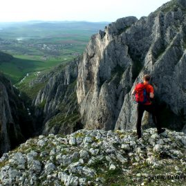 One-day hike to Turzii Gorge and optional Turda Salt Mine